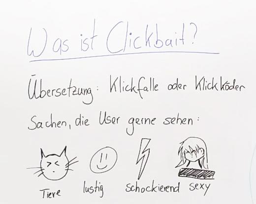 Was ist Clickbait